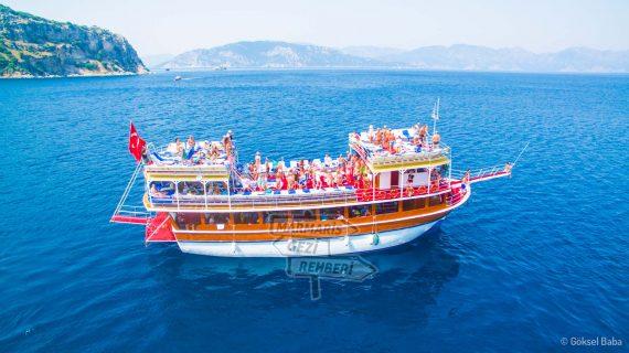 yağna boat marmaris merkez